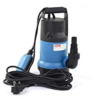 750W 12500L Clear/Dirty Water Pump Heavy Duty Submersible Water Pump with Float Switch Suitable for Garden/Cellars/Basements/Ponds & More