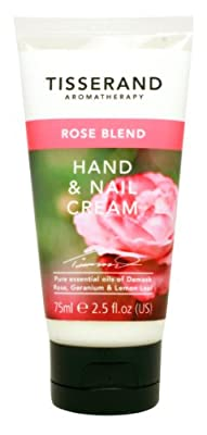 Tisserand Rose Blend Hand & Nail Cream
