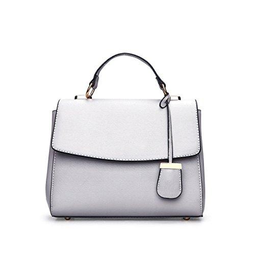aaa25d052d8e4 Messenger Bag Handtaschen Fashion Trend Cube Einfache Damen Handtaschen  Lightgray