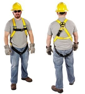 Full Body Harness, Standard, Yellow by MSA (Msa-harness)