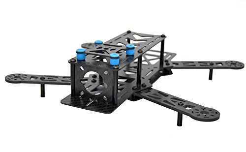 LHI 250 mm Pro Pure Carbon Fiber Quadcopter Race Copter Frame Kit ARF + MT2204 2300KV Motor + Simonk 12A ESC + 6030 CF Propeller Prop -US - 3