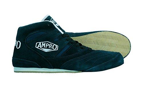 Ampro-London-Low-top-botas-de-boxeo-entrenamientoSparringcompetencialibre-bolsa-con-cuerda