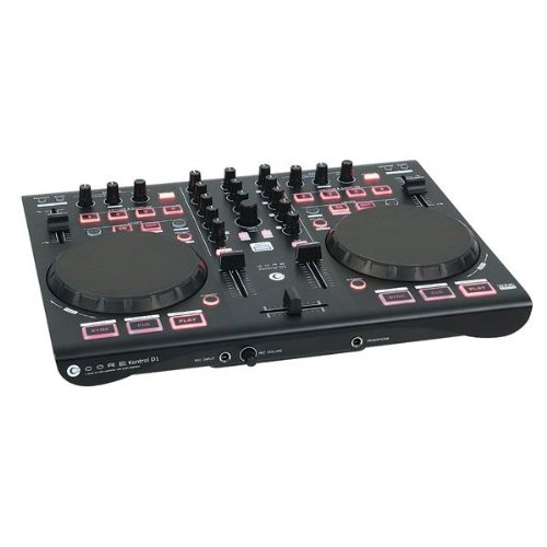 DAP-Audio CORE Kontrol D1 Midi Controller 2 Deck mit Audio Interface Audio-d1 Software