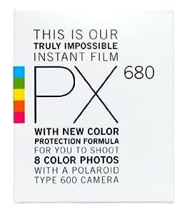 Impossible PX 680 pellicules (8 unités) protection couleur pour polaroid 600