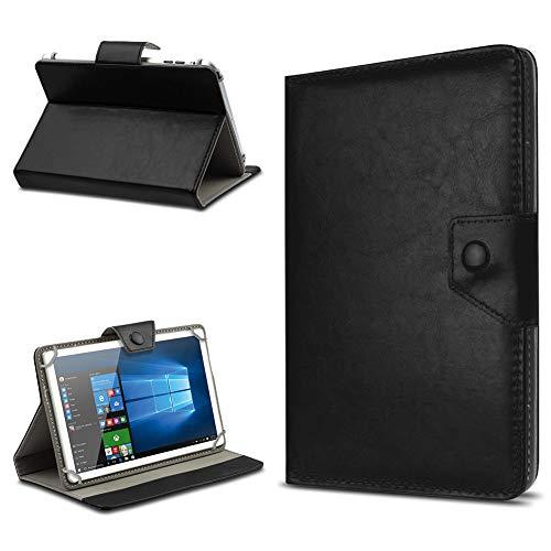 UC-Express Tasche Schutz Hülle für TrekStor SurfTab xintron i 10.1 Tablet Case Stand Cover Farbauswahl, Farben:Schwarz, Tablet Modell für:HP Slate 10 HD