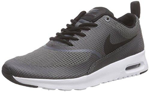 Nike Air Max Thea Textile Damen Sneakers, Grau (Dark Grey/Black-White), 36.5 EU (Grau Air Schwarz)