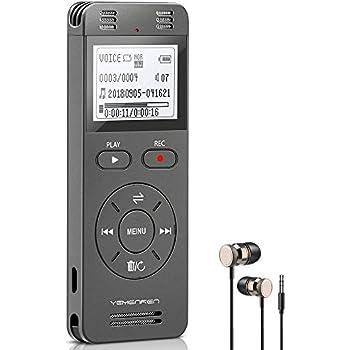 Digitaler Video und Memo Rekorder Diktierger/ät Aufnahmeger/ät Bild und Ton