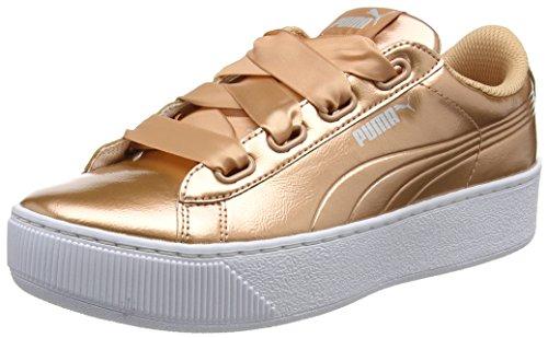 Puma Damen Vikky Platform Ribbon P Sneaker, Pink -