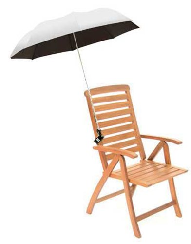 Eazy Shade Sonnenschirm zum Festklemmen - silber