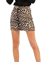 b96dde41ea Amazon.es  leopardo - 0 - 20 EUR   Faldas   Mujer  Ropa