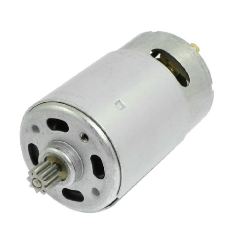 dc-18v-9-teeth-shank-gear-motor-replacement-for-rechargeable-electric-drill