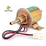 Madlife Garage UNIVERSAL Pumpe 12V 1,2A Niederdruck Gas Diesel Benzin Inline Elektrische Kraftstoffpumpe Externe Pumpe (Modell: HEP-02A)