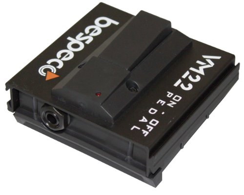 Bespeco VM22 - Pedal multiefecto para guitarra (switch), color negro
