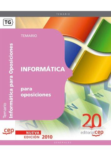 Informática para oposiciones (Colección 57)