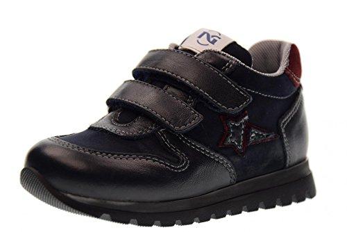Nero Giardini Chaussures de Sport Junior A724300M / 201 (19/22) Blue Bordeaux Taille 22 Bleu/Bourgogne