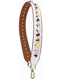 Umily 58cm Anse De Sac À Main Bandoulière Lanière Bretelle Sangle De Rechange Accessoires Shoulder Bag-gris