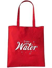 86e5c4a112 Speed Shirt Borsa Shopper Rossa ENJOY0097 ENJOY WATER