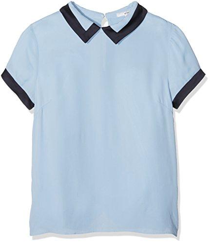 AN'GE Damen T-Shirt Aula Himmelblau