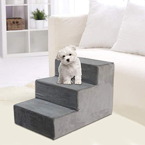 H-Sunshy - Pet Stairs - Hundetreppen - Pet Bed Ladder - Hundetreppen Pet Kletter-Schwamm-Treppe.