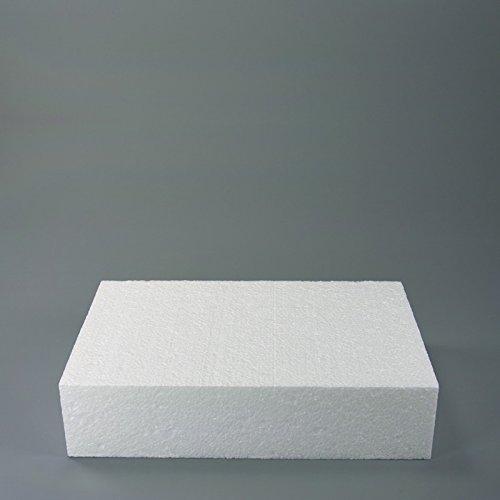 Staedter Rectangle de Coupe pour Demo gâteaux, Blanc, 30 x 20 cm