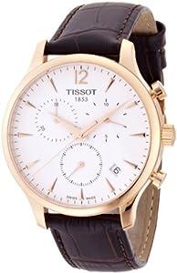 Tissot-reloj Hombre Correa Piel