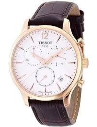 Tissot Herren-Armbanduhr Chronograph Quarz Leder T063.617.36.037.00