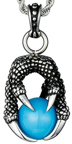 beydodo-stainless-steel-men-pendant-necklace-dragon-claw-with-bead-vintage-round-blue-cubic-zirconia