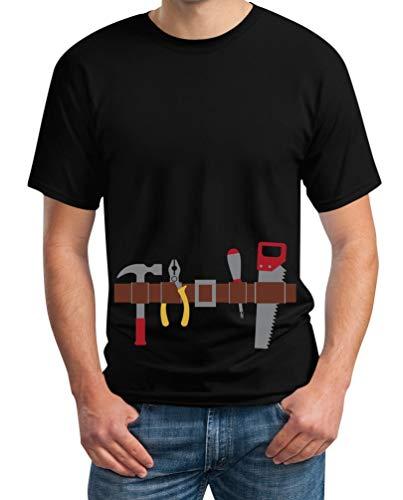 Shirtgeil tuttofare cintura attrezzi - facile idea costume per uomo maglietta da uomo xx-large nero