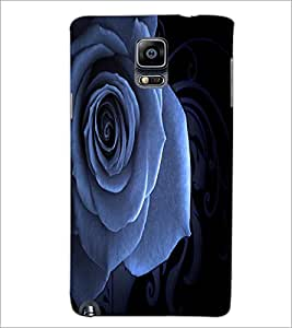 PrintDhaba Rose D-2014 Back Case Cover for SAMSUNG GALAXY NOTE 3 (Multi-Coloured)