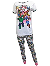 The Avengers Marvel Comics Superheroes Ladies Pyjamas