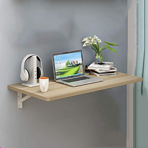 H-Desk H-DeskWand-Drop-Leaf-Tisch, Moderne minimalistische tragbare Klappküche & Esstisch Schreibtisch, Kindertisch, Home Office Tisch Schreibtisch Workstation Computertisch,60 * 30 * 2cm -