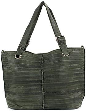 FREDsBRUDER Tasche - Shopzilla Stripes - Olive