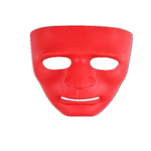 Black Temptation Halloween Masquerade Horror Make-up Kostüme Gesichtsmaske #4