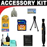 4GB Deluxe DB ROTH Accessory KitFor The RCA EZ300HD Small Wonder HD Camcorders
