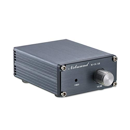 Nobsound 100W Subwoofer / Full Frequency Mono Channel Digital Power Amplifier Audio Mini Amp (Subwoofer, Gray) Single-channel-modul Video