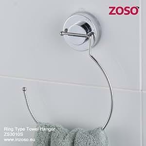 Porte-serviettes en anneau - ZOSO - Produits Ventouse Supers Puissants