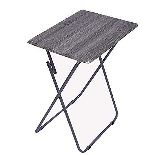 LIPAI Table Pliante Simple Mobilier Petit Appartement Table Camping ExtéRieur Portable Table Pliante Et Chaise Couleur Bois Clair 66 * 48 * 38cm