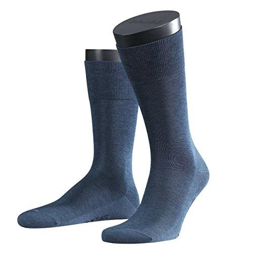 Preisvergleich Produktbild FALKE City Herren Socken Tiago 3er Pack - 45/46 - Jeans (6670)
