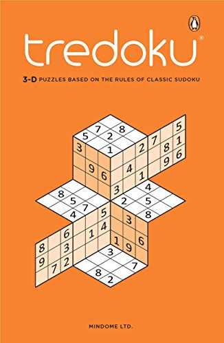 Price comparison product image Tredoku: 3-D Puzzles Based on the Rules of Classic Sudoku