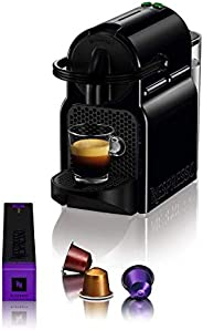 Nespresso Inissia D40 Me Coffee Machine, D40-ME-BK-NE, Black, 2 Year International Warranty