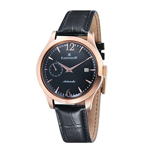 Thomas Earnshaw ES-8034-04 - Reloj automático para hombre, color negro