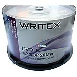 WRITEX DVD 4.7 GB PACK OF 50