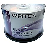 Best Blank Dvds - WRITEX DVD 4.7 GB PACK OF 50 Review