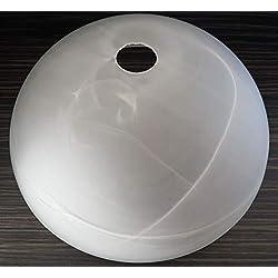 Abat-jour E27 35 cm couleur albâtre, verre de rechange, abat-jour, lampe de rechange, lampe de lampadaire, lampe de table, projecteur