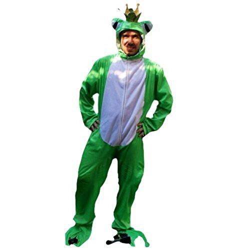 Frosch Kostüm Paar Und Prinzessin - PUS Frosch-König Kostüm-e Sy12 Gr. M-L, Kat. 1, Achtung: B-Ware Artikel, Bitte Artikelmerkmale lesen! Frau-en Männer Tier-e Frösche Märchen Fasnacht-s Fasching-s Karneval-s Geburtstag-s Geschenk-e