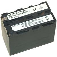 Troy Batterie Li-Ion pour caméscope Sony compatible NP-F330 / NP-F530 / NP-F550 / NP-F750/NP-F760 / NP-F770 / NP-F950 / NP-F960 / NP-F970