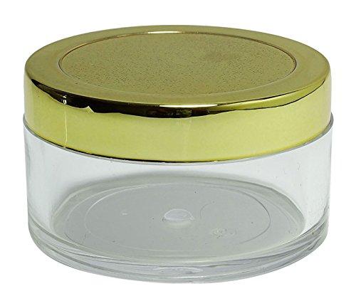 Lagerbehälter Klar (Lot von 50 x 16 Gm klaren Plastikdosen leeren kosmetischen Lagerbehälter nachfüllbar Lippenbalsam Jar Großhandel fester Duftstoff-Gläser)