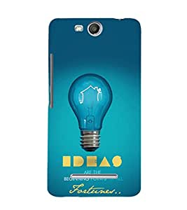 EPICCASE Ideas Mobile Back Case Cover For Micromax Canvas Juice 3 Q392 (Designer Case)