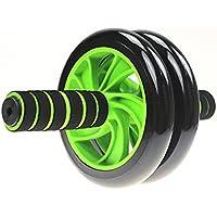 Liu Yu·casa creativa LIU - Juego de rueda de abdominal para abdomen, doble redonda, para equipo de fitness en casa