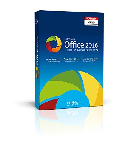 SoftMaker Office Home & Business 2016 (für 3 PCs)|Home & Business|1|unbeschränkt|PC / Notebook|Disc|Disc (Setzen Home)
